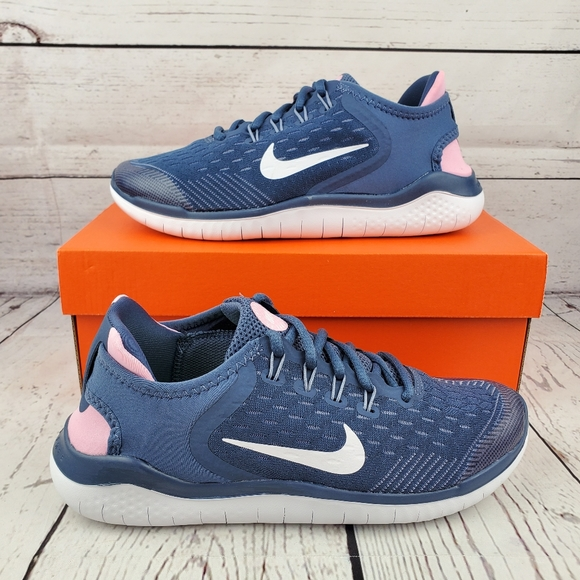 Chaleco asiático Establecimiento  Nike Shoes   New Nike Free Run 28 Womens Blue Pink   Poshmark